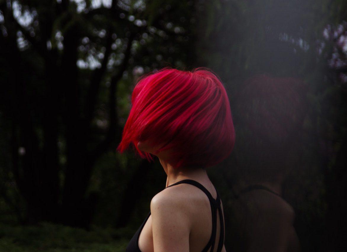 Women Bright Red Short Hair A Spencer Gellise Salon